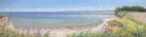 Ostsee bei Eckernförde, 110 X 25 cm