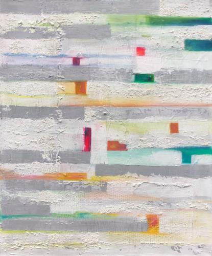 Farbenspie III, 80 X 100 cm