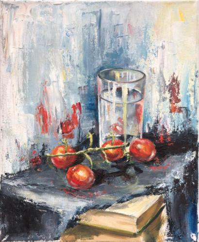 Tomaten, 24 X 30  cm