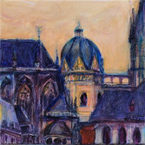 Aachen Dom XIII, 20 X 20 cm
