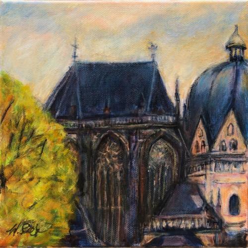 Aachen Dom IV, 20 X 20 cm