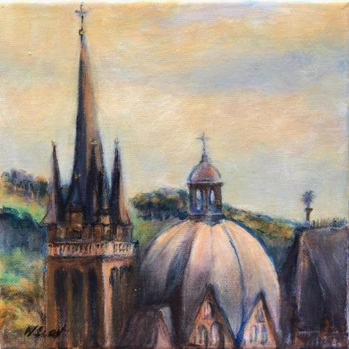 Aachen Dom VII, 20 X 20 cm