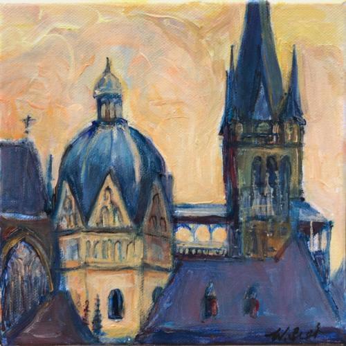 Aachen Dom XI, 20 X 20 cm